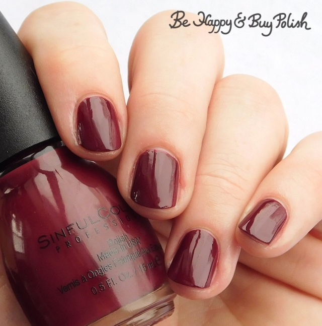 Sinful Colors Raisin the Roof | Be Happy And Buy Polish