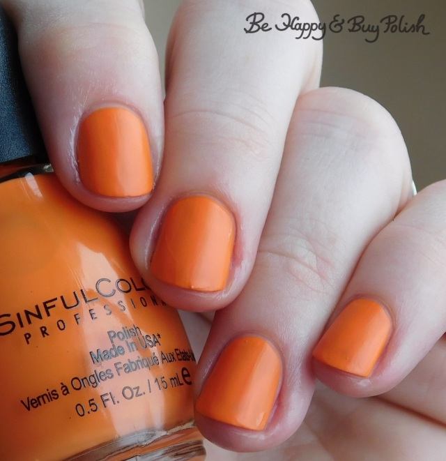 Sinful Colors Sinful Mattes Coral Craze | Be Happy And Buy Polish