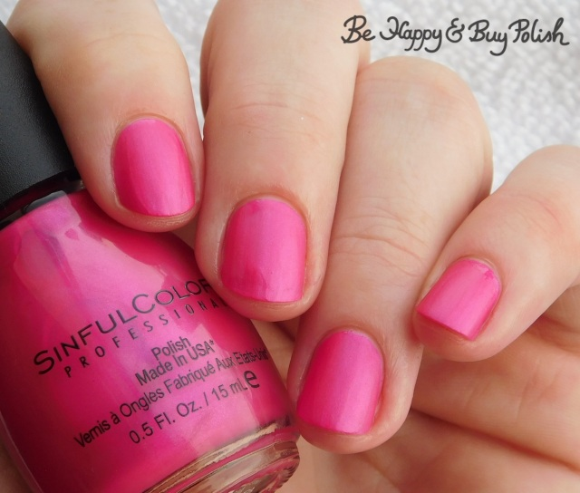 Sinful Colors Sinful Mattes Let's Flamingle | Be Happy And Buy Polish