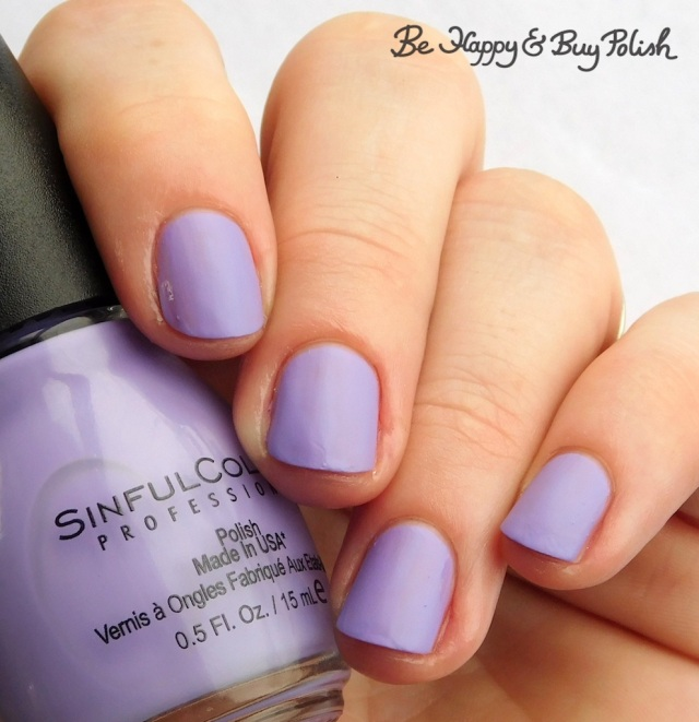 Sinful Colors Sinful Mattes Purplexed | Be Happy And Buy Polish