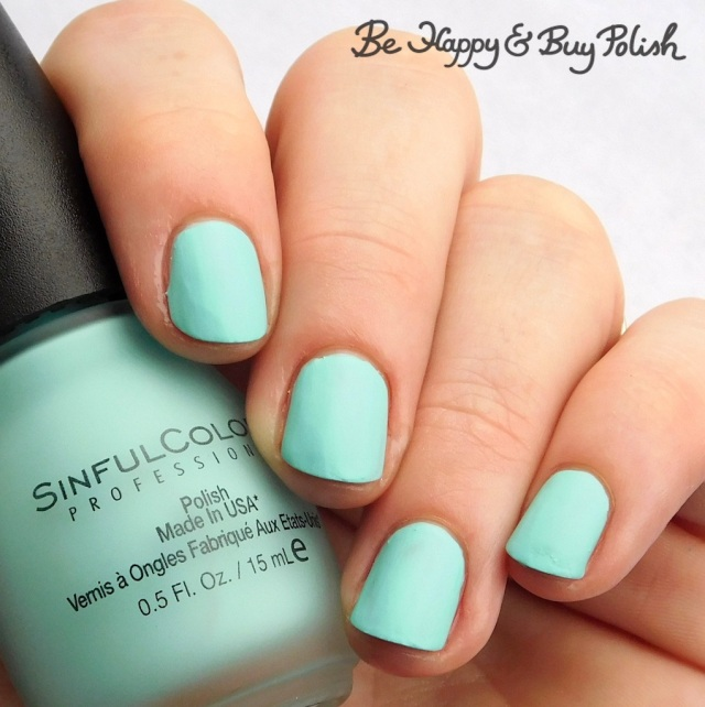 Sinful Colors Sinful Mattes State-mint | Be Happy And Buy Polish
