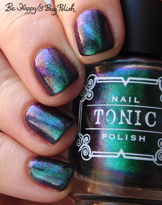 Tonic Polish Mirabilis magnetic nail polish color shift | Be Happy And Buy Polish