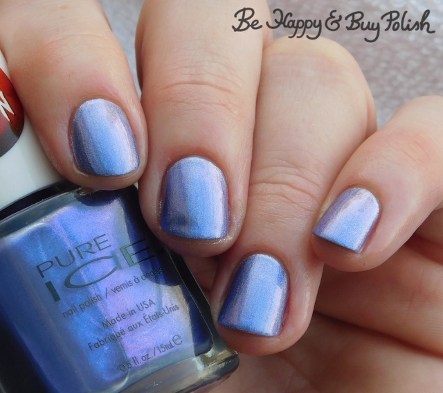 Pure Ice Good Witch over Hot Topic Blackheart Beauty Liquid Crystals Amethyst | Be Happy And Buy Polish