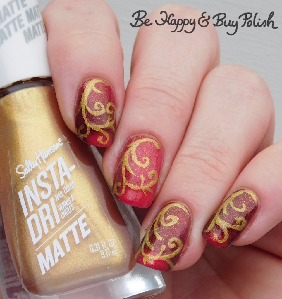 KBShimmer That's Smore Like It with Sally Hansen Insta Dri