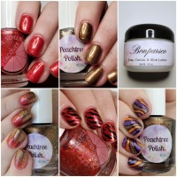 The Harvest Gala collab: Sweet & Sour Lacquer and Peachtree Polish/Bonparsco